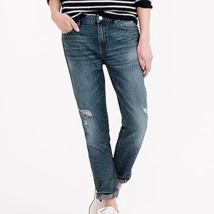 J CREW Colby Wash Broken in Boyfriend Jeans 29